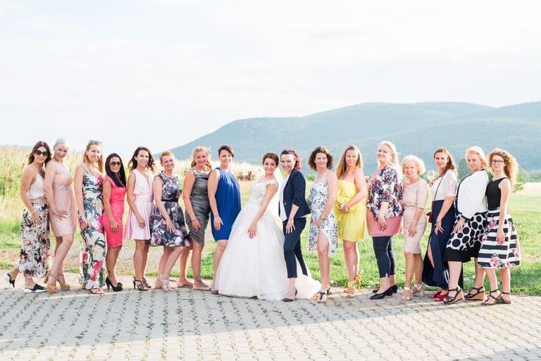 vidéki  álomszép esküvő42